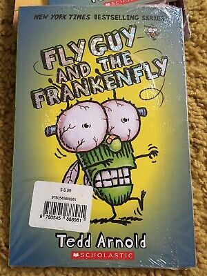 BRAND NEW 3 Book Paperback Fly Guy & The frankenfly, Monster Manners, SEALED