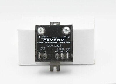 CRYDOM 10LPCV2425 Proportional SSR Used, Cleaned, Tested Working