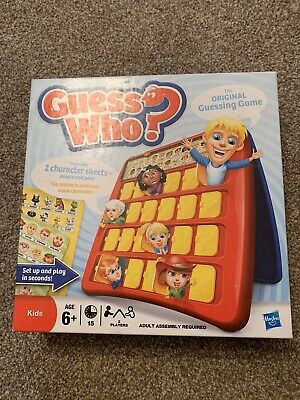 Guess Who The Original Kids Guessing Game Hasbro - Excellent Condition