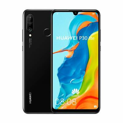 Huawei P30 Lite MAR-LX3A - 128GB - Black - Unlocked Mobile phone
