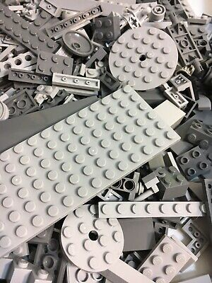 Buy 3 get 1 free. 100 CLEAN Small and tiny Lego Pieces Gray And Black