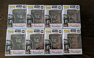Funko POP! Star Wars #326 The Mandalorian NEW IN HAND EXCELLENT CONDITION