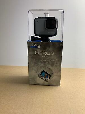 GoPro HERO7 White Waterproof Action Camera Touch Screen 1440p HD Video 10MP