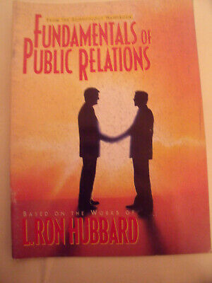Fundamentals Of Public Relations L. Ron Hubbard Scientology Handbook Booklet