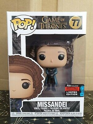 Funko Pop Vinyl - Game of Thrones #77 Missandei - New- Fall Convention exclusive