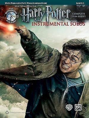 Harry Potter Violin Sheet Music & CD - Hedwig, Fawkes, Dobby, Hogwarts, More!