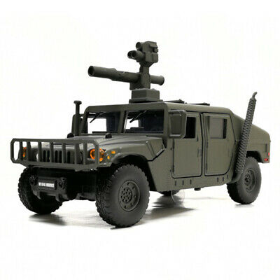 1:32 HMMWV M1046 Humvee Military Army Vehicle Model Car Diecast Gift Toy Green