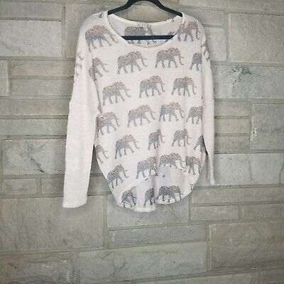 Moa Moa Elephant Top Womens Small Shirt