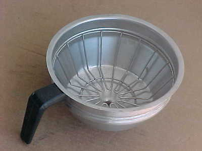 Bunn 20217.000 Stainless Steel Coffee Filter Funnel Brew Basket 7 5/8""