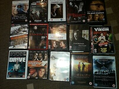DVD Bundles mixed Genres, 15 DVDs per Lot, several Lots available (see photos)