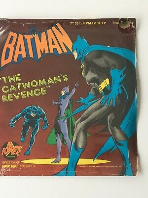 "BATMAN - The Catwoman's Revenge. 1975 US 7"" in picture sleeve still sealed"