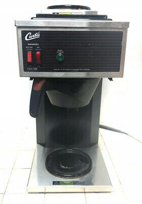 Wilbur Curtis CAFE2DB Commercial Coffee Pourover Maker Brewer Duel Station Works