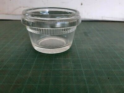 Vintage FOWLERS VACOLA  1/4 lb meat mould, early jar,  Lot 1