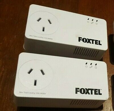 2 x NP511 Netcomm Powerline Adapters 500mbps