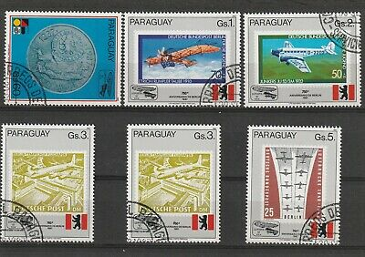 Paraguay 1987 750th Anniversary of Berlin Set CTO