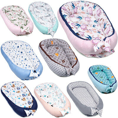 PREMIUM Baby Pod Nest Newborn Reversible Cocoon Bed Newborn Cushion Sleepyhead