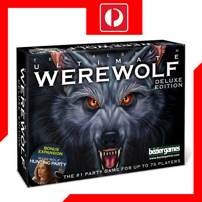Bezier Games Ultimate Werewolf Deluxe Edition Card Game
