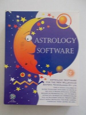 + Astrology Software For The New Millenium [2 Discs + 2 Books +] As New