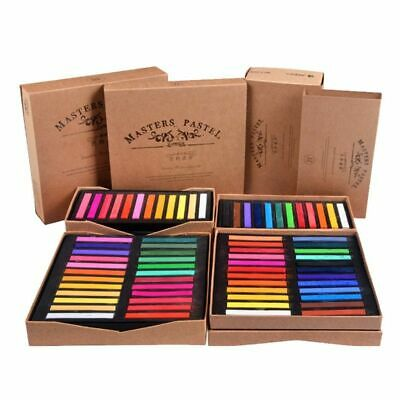 Painting Crayon Soft Pastel 12 24 36 48 Color Art Drawing Set Chalk Crayon Brush