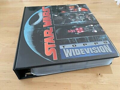 TOPPS STAR WARS Widevision Star Wars (complete) Plus some ESB RoTJ in Binder