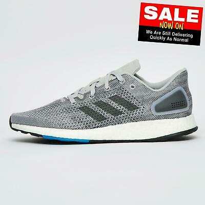Adidas Pureboost DPR Junior Running Shoes Fitness Gym Trainers Grey