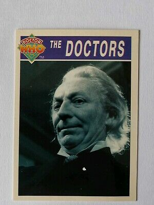 Rare Doctor Who Trading Card (The Doctors)