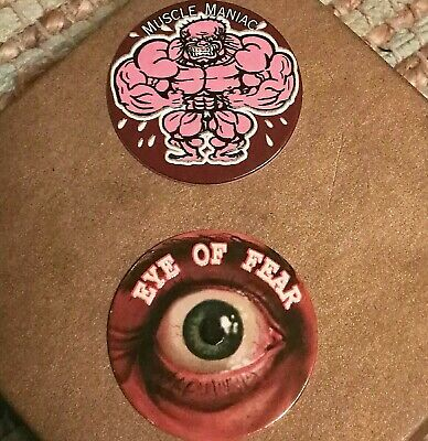 Glo Caps x 52 bulk lot Hot N Cool Freaky Zone, very rare collectables