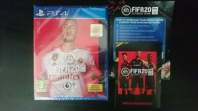 FIFA 20 New & Sealed + Bonus Content (ps4)