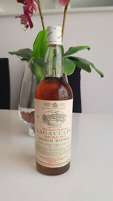 RARE WHISKY LAGAVULIN 12 YEARS OLD IN 75CL AND 43% WHITE HORSE DISTILLERS 1970´s