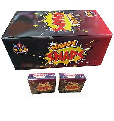 Happy Snaps / Fun Snaps Throw Bangers 50 Packs Party Bag Xmas Stocking Fillers