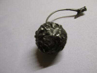 antique art deco Sterling Silver cantonese Chinese.fruit cherry 16.6g 10.7dwt h8