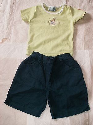 Girls Peter Rabbit Outfit Top And Shorts Age 2 Years