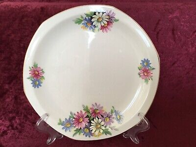 Vintage Brexton Picnic Plate Replacement Cosmos Daisies Floral