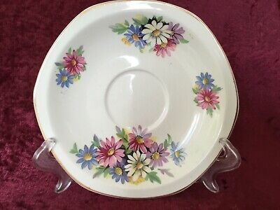 Vintage Brexton Picnic Saucer Replacement Cosmos Daisies Floral