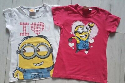 Despicable Me Girls T-shirts Minions 4-6 years 4 5 6