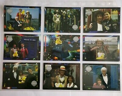 Rare Doctor Who Special Trading Cards  Dimensions In Time