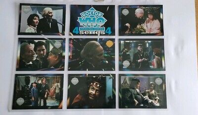 Rare Doctor Who Trading Cards Series 4 The First Doctor