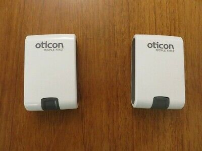Oticon Hearing Aid Box / Travel Case White