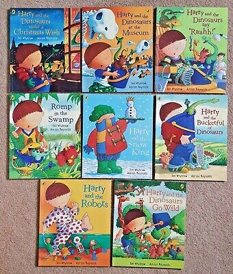 Harry and The Dinosaurs Collection of 8 Books by Ian Whybrow