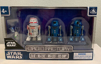 THE RISE OF SKYWALKER, Disney Parks Exclusive, 4PACK DROID FACTORY STAR WARS New