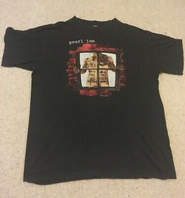 Vintage 90s Pearl Jam 'Window Pane' T-shirt