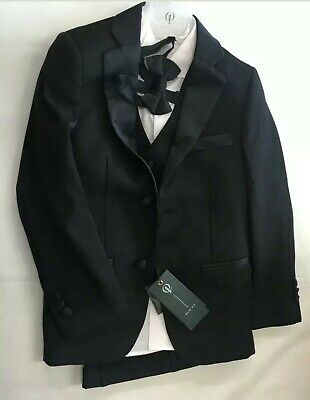 Boys Paisley Of London Suit, Size 7yrs