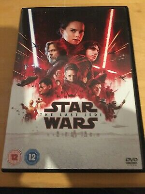 Star Wars The Last Jedi 2017 Genuine UK DVD