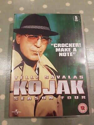 Kojak: Season 4 DVD (2011) Telly Savalas Season Four
