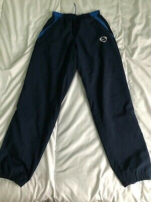 Nike tracksuit trousers bottoms pants joggers blue mens size S
