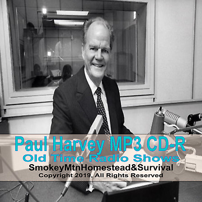 The Rest Of The Story Paul Harvey 663 Episodes Of Old Time Radio OTR On MP3 CD