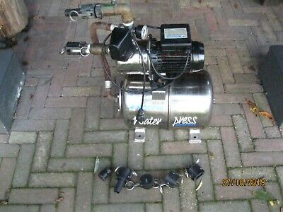 Nocchi WP Superinox 1000 Edelstahl Gartenpumpe Waterpress Pumpe