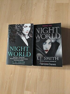 Night World Volume 1&2 - L J Smith. Paperback. For fans of The Vampire Diaries.