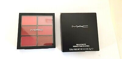 Mac  Pro lip palette -Editorial red. Used once. boxed and 100% genuine RRP 30.00
