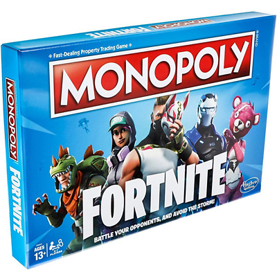 Hasbro Monopoly Fortnite Edition Board Game - NEW & SEALED